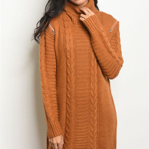 Dresses & Skirts - CABLE SWEATER DRESS